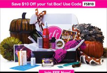 FabFitFun $10 Off Coupon