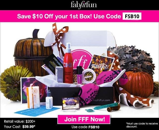 FabFitFun $10 Off Coupon