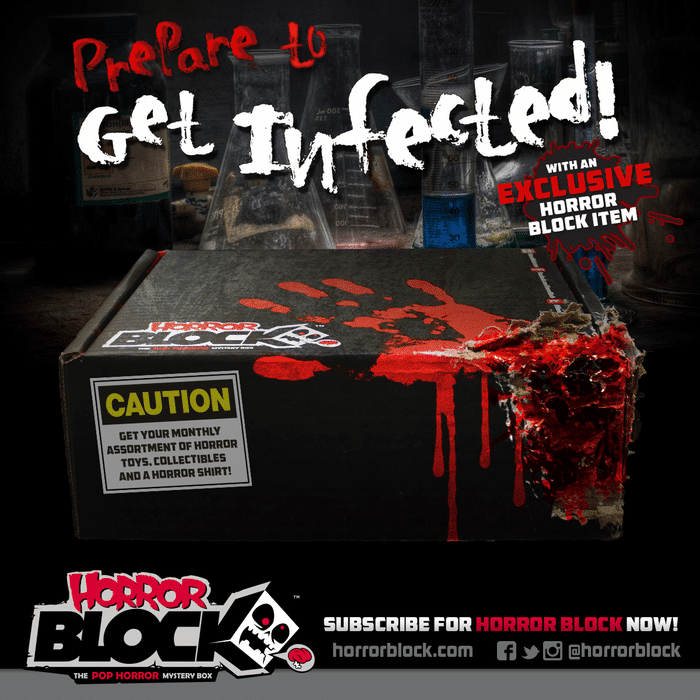 Horror Block February 2015 Box Spoiler - Zombie Item