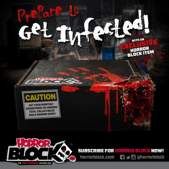 Horror Block February 2015 Box Spoiler - Zombie Item