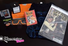 Loot Crate January 2015 Rewind Crate Box Review - Box Contents