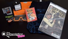 Loot Crate January 2015 Box Review – Rewind Crate – Geek Subscription Box
