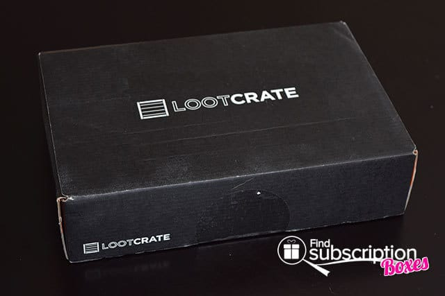 Loot Crate January 2015 Rewind Crate Box Review - Box