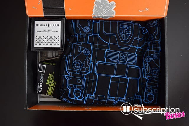 Loot Crate January 2015 Rewind Crate Box Review - First Look