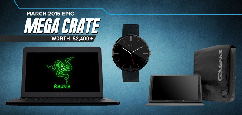 Loot Crate March 2015 Mega Crate