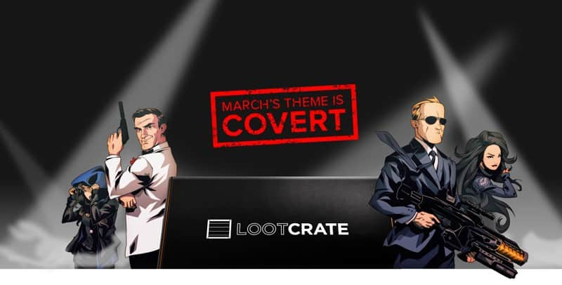 Loot Crate March 2015 Theme - Covert