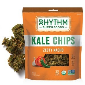 Love With Food March 2015 Box Spoiler - Rhythm Superfoods Zesty Nacho Kale Chips