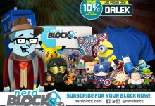 Nerd Block Save 10% Off with Code DALEK