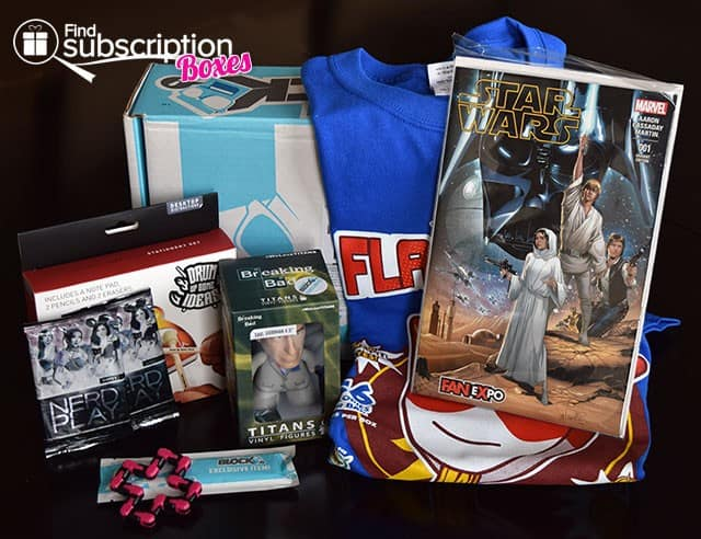 Nerd Block February 2015 Box Review - Box Contents