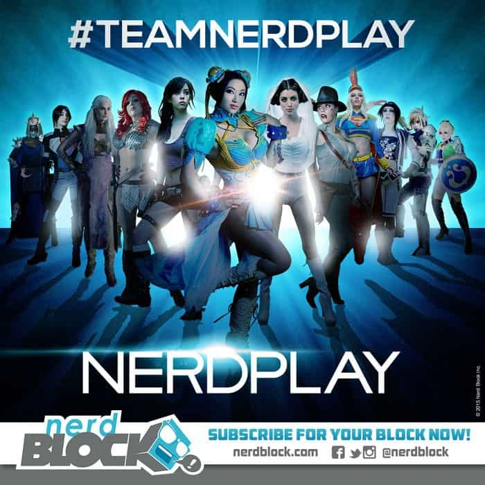 Nerd Block February 2015 Box Spoiler - Cosplay