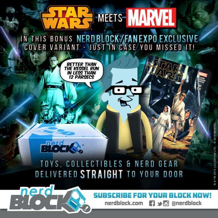 Nerd Block February 2015 Box Spoiler - Star Wars
