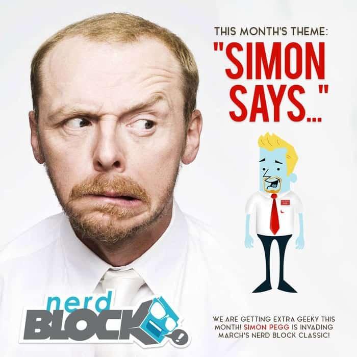 Nerd Block March 2015 Theme Reveal - Simon Says...