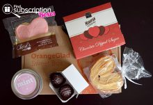 Orange Glad February 2015 Box Review - Box Contents