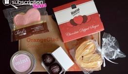 Orange Glad February 2015 Sweet Box Review + Coupon