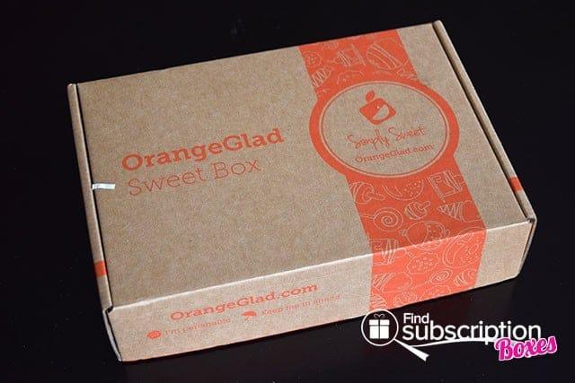 Orange Glad February 2015 Box Review - Box