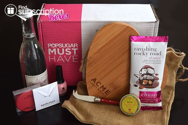POPSUGAR Must Have February 2015 Box Review - Box Contents