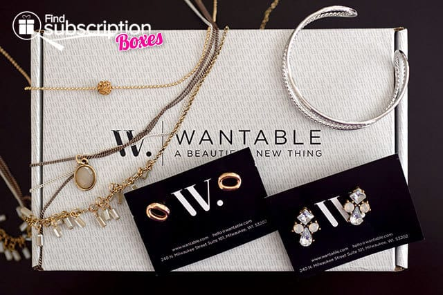 Wantable Accessories Box January 2015 Box Review - Box Contents