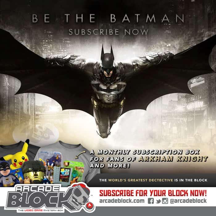Arcade Block March 2015 Box Spoiler - Batman