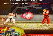 Arcade Block March 2015 Box Spoiler - Street Fighter