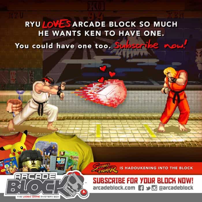Arcade Block March 2015 Box Spoiler - Street Fighter