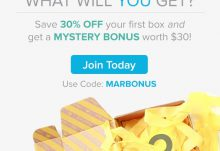 Citrus Lane 30% Off March Mystery Bonus