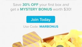 Save 30% Off Your 1st Citrus Lane Box PLUS Get a FREE Mystery Bonus Gift with code MARBONUS