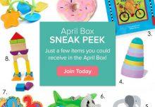 Citrus Lane April 2015 Box Spoilers