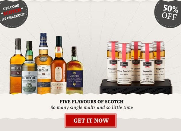 Flaviar 50 off Scotch Whisky Box Coupon