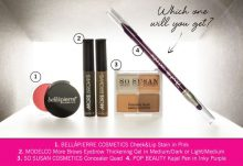 GLOSSYBOX March 2015 Box Spoilers - Makeup