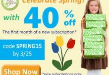 Green Kid Crafts 40% Off 1st Month