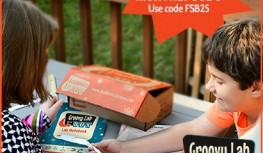 Exclusive Coupon! Save 25% Off Monthly Groovy Lab in a Box Subscriptions with Code FSB25