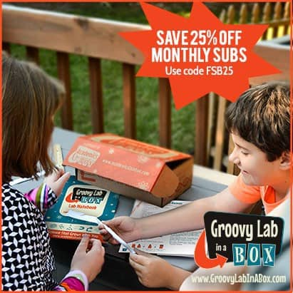 Groovy Lab in a Box 25% Off Coupon