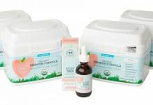 Honest organic infant formula + dha bundle