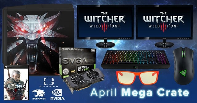 Loot Crate April 2015 Mega Crate
