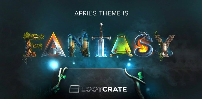 Loot Crate April 2015 Theme - Covert