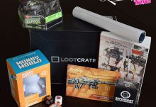 Loot Crate February 2015 Play Crate Box Review - Box Contents