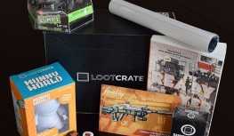 Loot Crate February 2015 Box Review – PLAY Crate