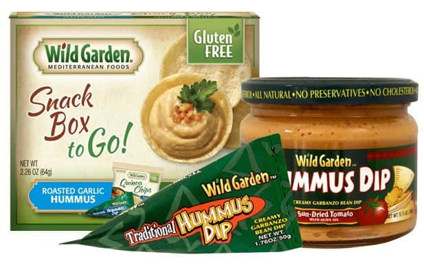 Love With Food April 2015 Gluten-Free Box Spoiler - Wild Garden Hummus Dip