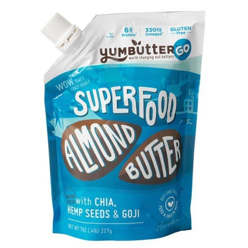 Love With Food April 2015 Gluten-Free Box Spoiler - Almond Butter Go by Yumbutter