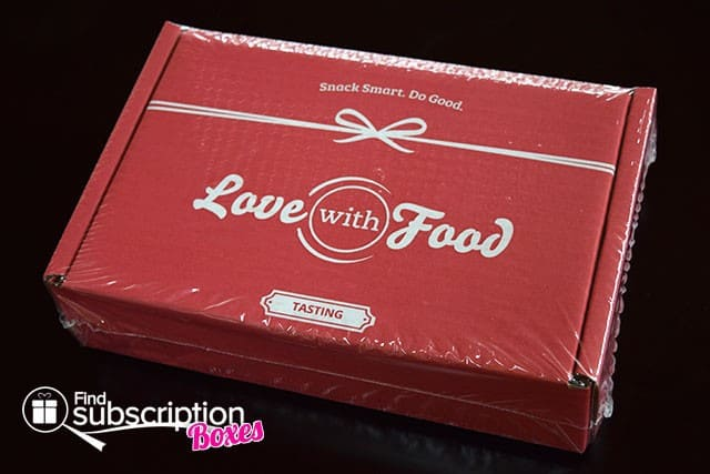 Love With Food March 2015 Tasting Box Review - Box