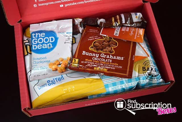 Love With Food March 2015 Tasting Box Review - First Look