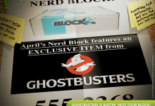 Nerd Block April 2015 Box Spoiler - Ghostbuxters