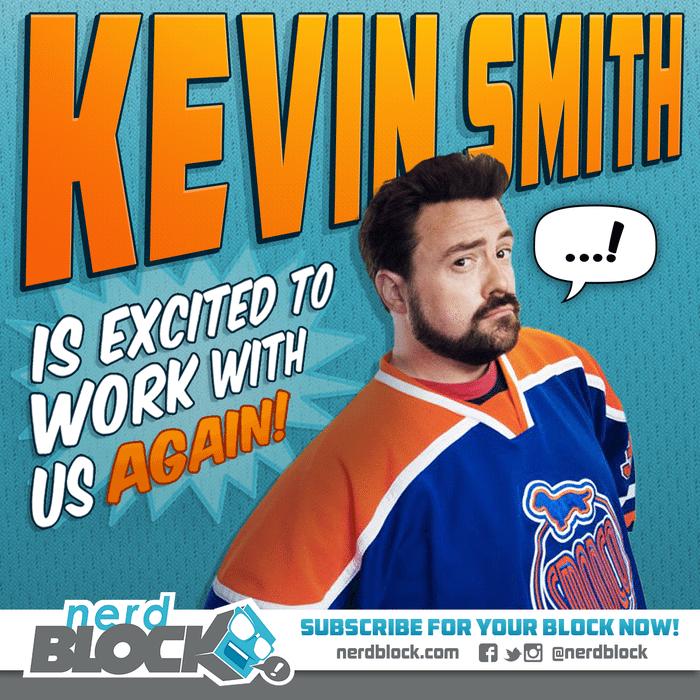 Nerd Block April 2015 Box Spoiler - Kevin Smith