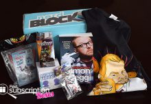Nerd Block March 2015 Box Review - Box Contents