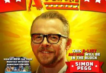 Nerd Block March 2015 Box Spoiler - Simon Pegg