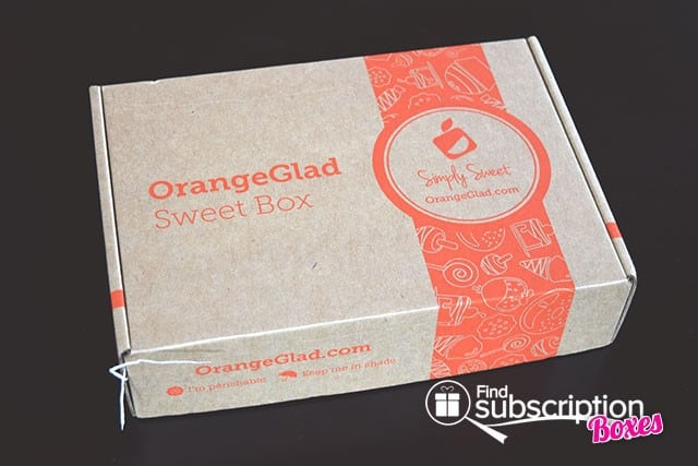 Orange Glad March 2015 Sweet Box Review - Box