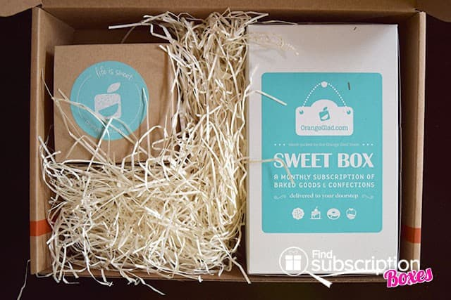 Orange Glad March 2015 Sweet Box Review - First Look