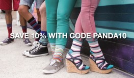 Save 10% Off Any Sock Panda Sock Subscription with Code PANDA10