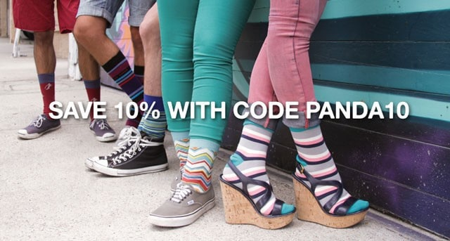 Sock Panda 10% Off Coupon Code