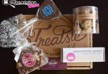 Treatsie February 2015 Box Review - Box Contents